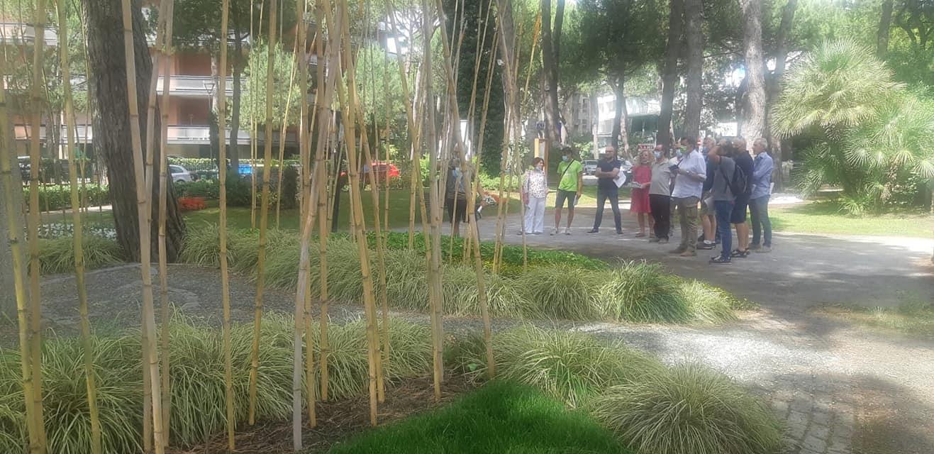 Il direttivo italiano dell'Associazione Pubblici Giardini si è incontrato a Cervia